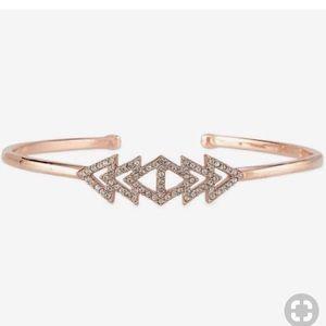 Stella & Dot Pave Triangle Cuff